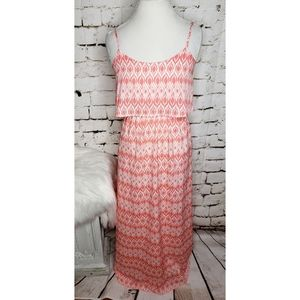 Takara Cateye Peach Maxi Dress sz Sm